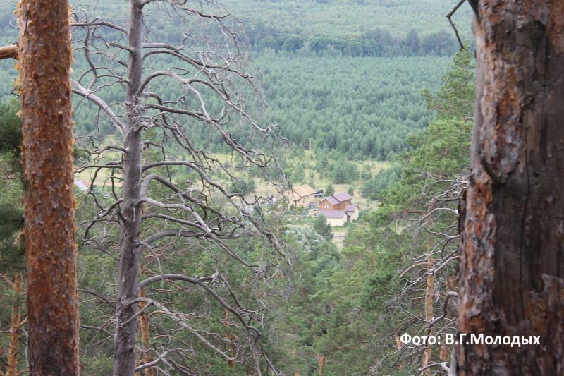 Вид с Рачейских Альп в далину