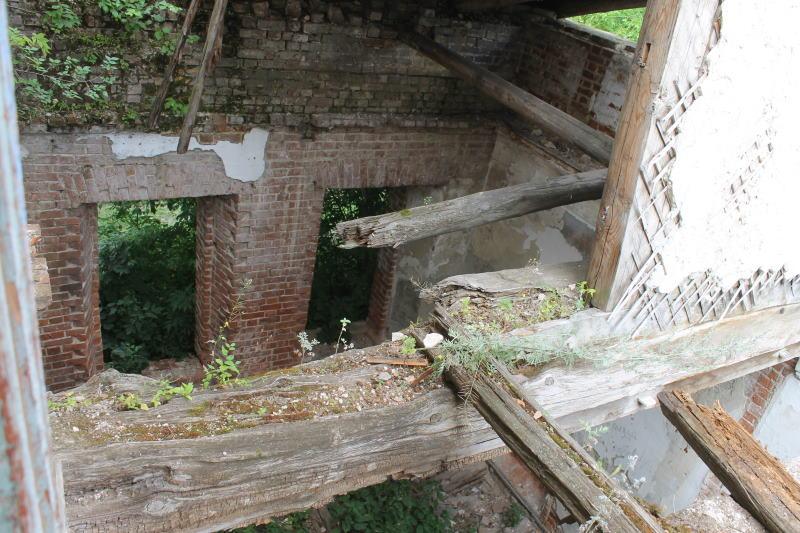 Руины усадьбы графа Орлова-Давыдова