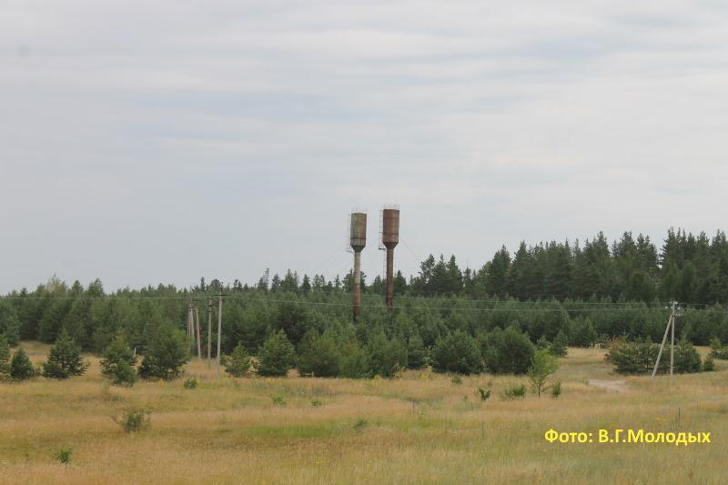 Вдонапорные башни у села Старая Рачейка