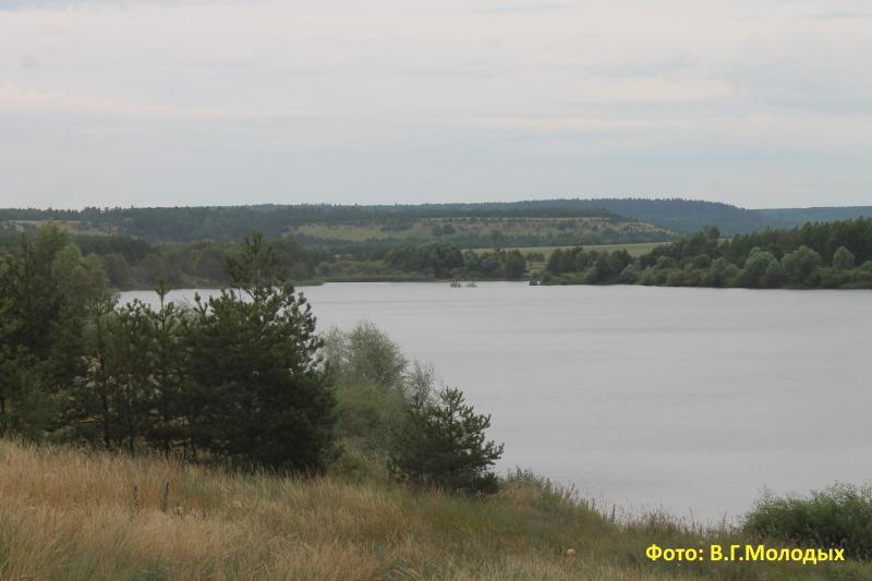 Рачейский пруд село Старая Рачейка