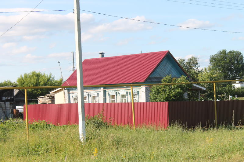 Дом в селе Осиновка