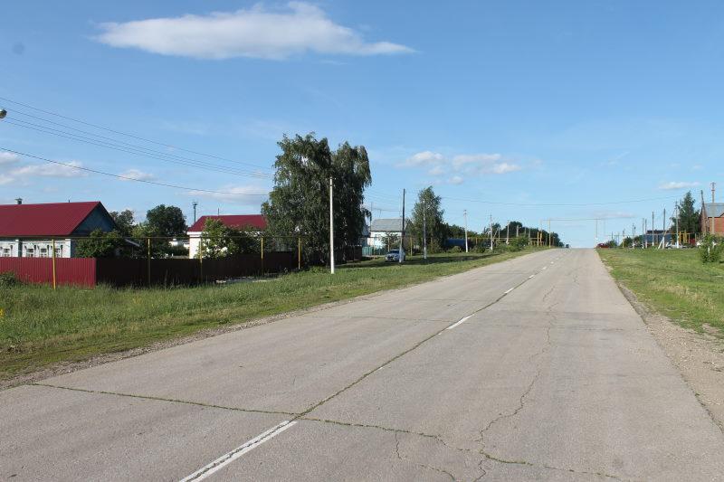 Улица в селе Осиновка