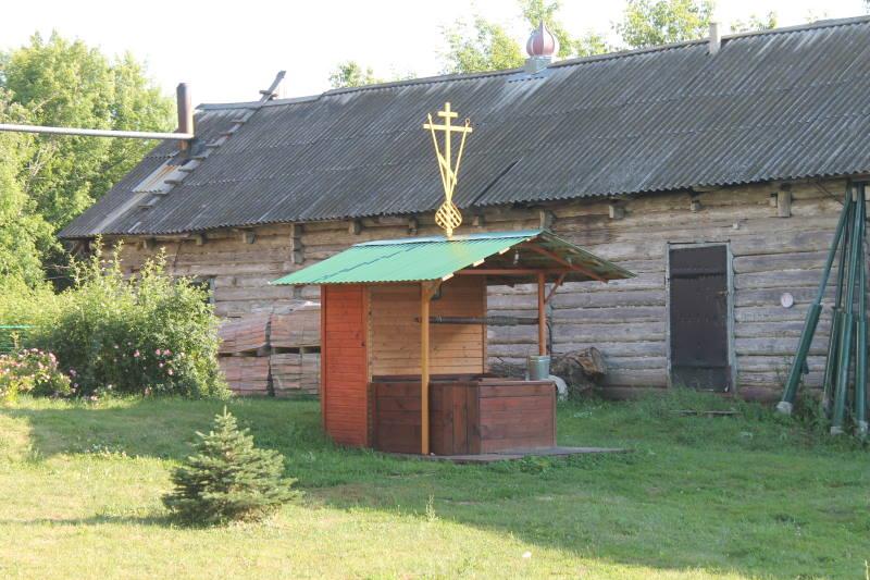 Колодец в селе Осиновка