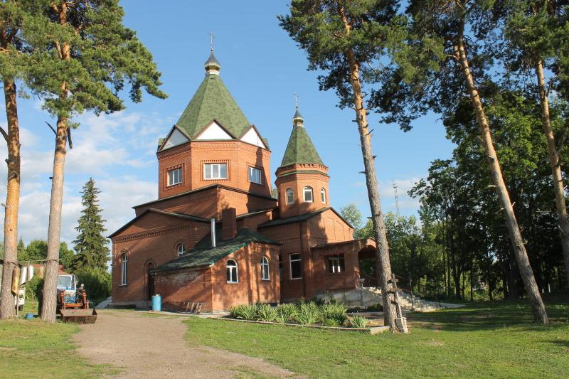 Храм во имя великомученика Димитрия Солунского в селе Сосновый Солонц