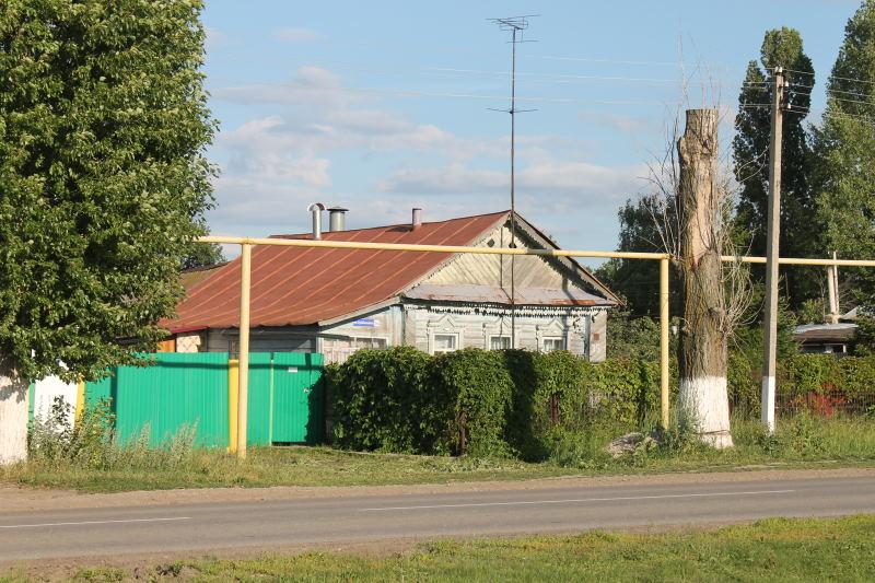 Ветхий дом в Сосновом Солонце