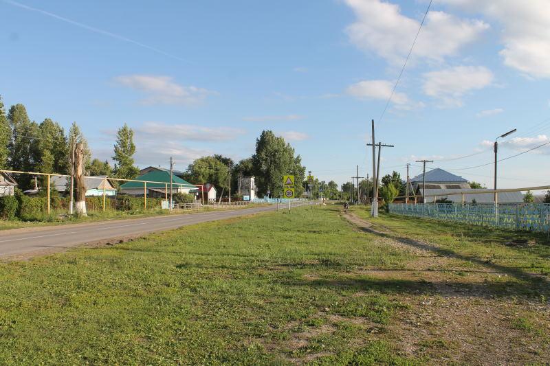 Улица в Сосновом Солонце