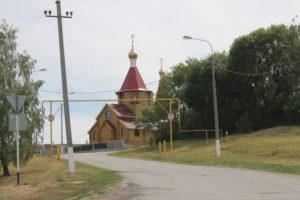 Храм в селе Жигули