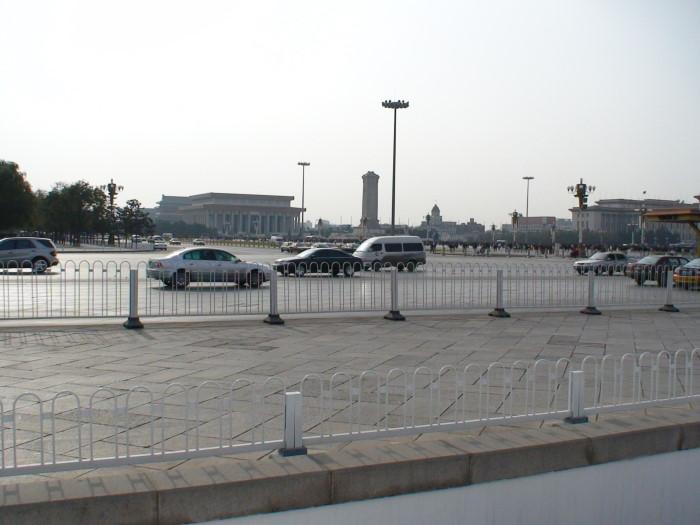 Площадь Тяньаньмэнь, Пекин, Китай