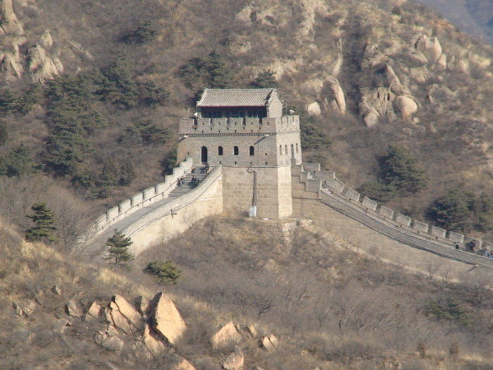 На Великой Китайской стене 2