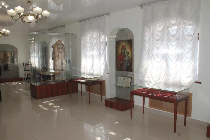 В музее Свято-Богородичного мужского монастыря Казанской иконы Божьей Матери с. Винновка