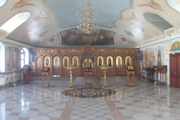 Храм во имя святого преподобного Сергия Радонежского