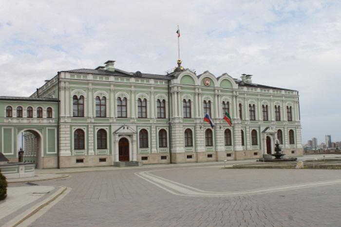 Президентский дворец, резиденция президента Республики Татарстан