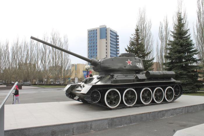 Легендарный танк Великой Отечественной Войны Т-34