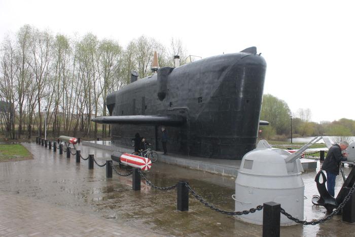 Рубка атомной подводной лодки К-403 «Казань»