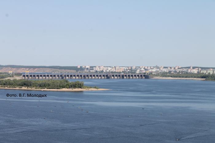 Водосброс Жигулевской ГЭС