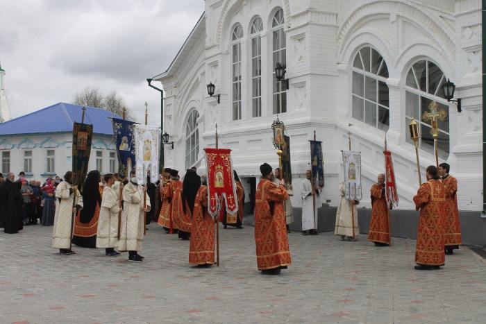 Крестный ход в Раифском Богородицком мужском монастыре