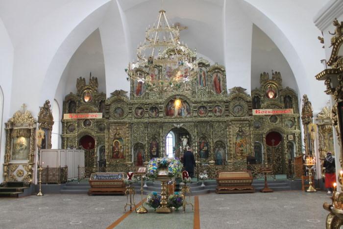 В Соборе в честь Святой Троицы