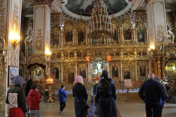 В Соборе Грузинской иконы Божией Матери