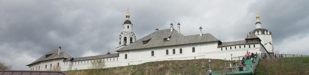 Святые места России остров Свияжск