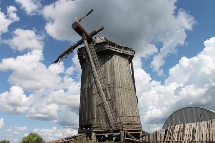 Ветряная мельница в селе Бариновка