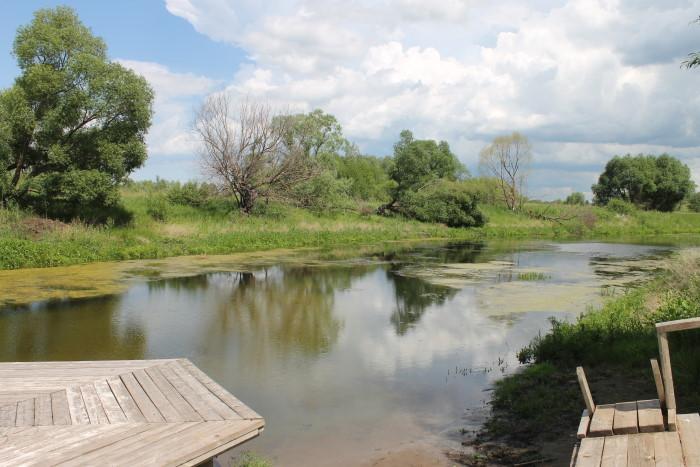 Святое озеро в селе Съезжее