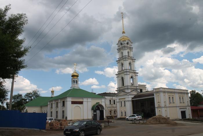 Мужскоий монастырь Святителя Николая в селе Богатое