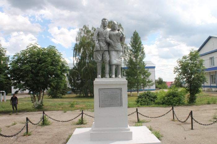 Памятник Люди в белых халатах в Селе Богатое