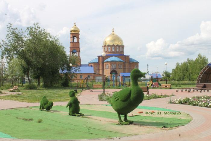 Храм «Святой Троицы» в селе Утевка