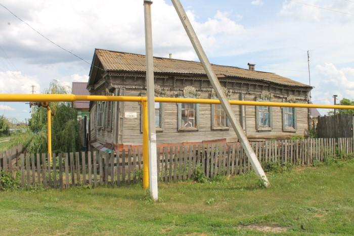 Жилые дома в селе Утевка