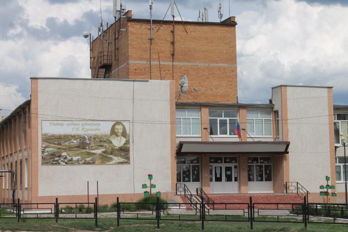 Дом культуры в котором располагается музей Григорию Журавлеву