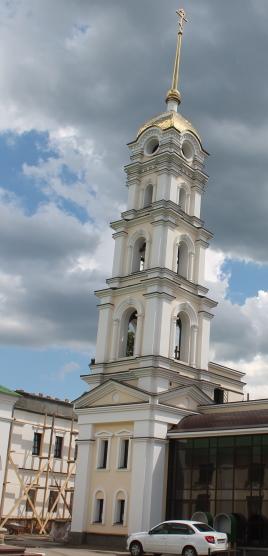 Колокольня храма Святителя Николая в селе Богатое