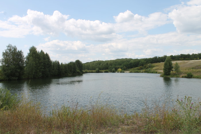 Озеро у Водопада в Сырйке
