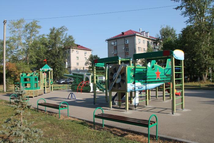 Игровая площадка в Курумоч