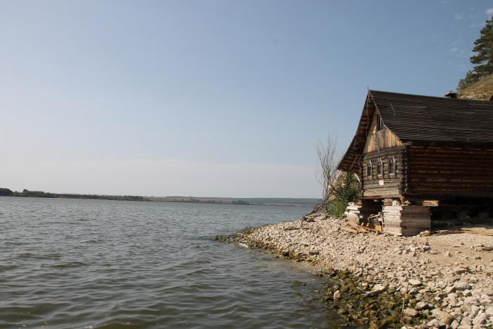 Река Уса в районе Богатырской слободы